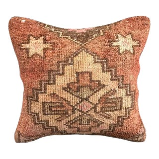 1960's Turkish Tribal Vintage Pillow Cover For Sale