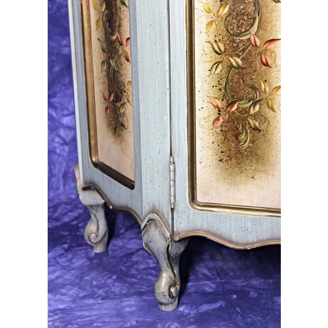 Traditional Portuguese Marble Top Cabinet For Sale - Image 3 of 12