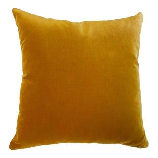 """Forsyth Loro Piana Velvet Pillow, 16"""" For Sale"""