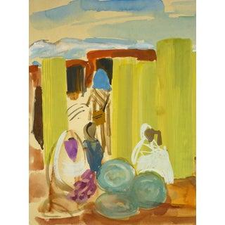 Stephane Magnard, African Women in Market For Sale
