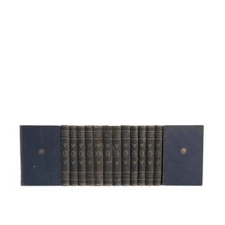 Goethe's Works in German - Set of Fourteen Vintage Decorative Books in German For Sale