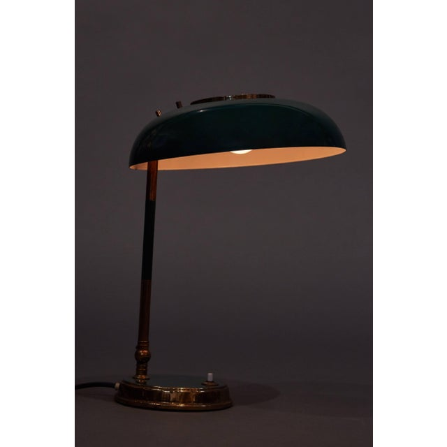 Stunning Oscar Torlasco Table Lamp for Lumi For Sale - Image 9 of 11