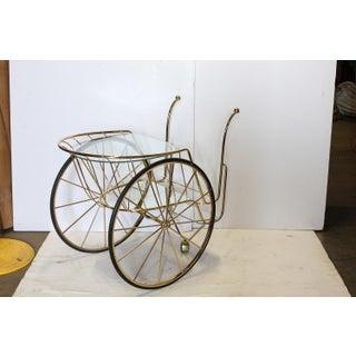 Modern Italian Brass Bar Cart Preview