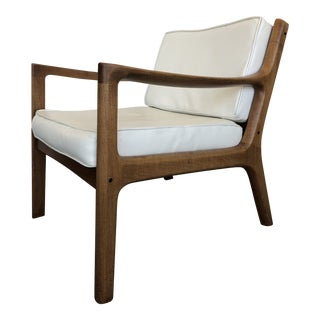 1960s Danish Modern Ole Wanscher Senator Lounge Chair For Sale
