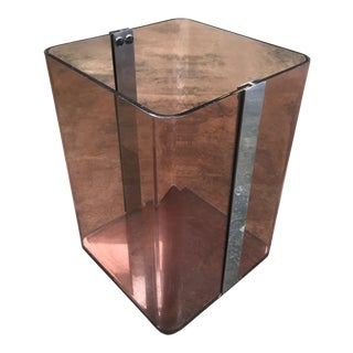 1970's Vintage French Violet Lucite Umbrella Stand For Sale