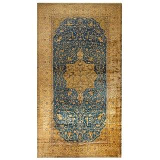 Antique Oversize North Indian Carpet