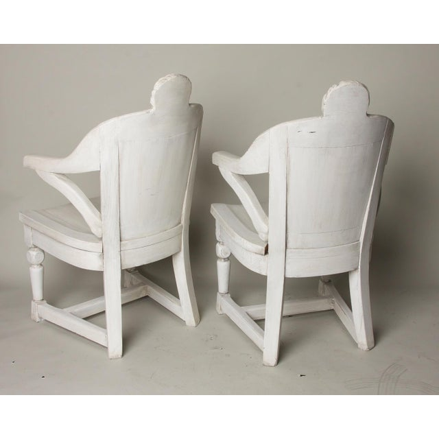 Wood Late 19th Century Antique Anatomical Chairs- A Pair For Sale - Image 7 of 9