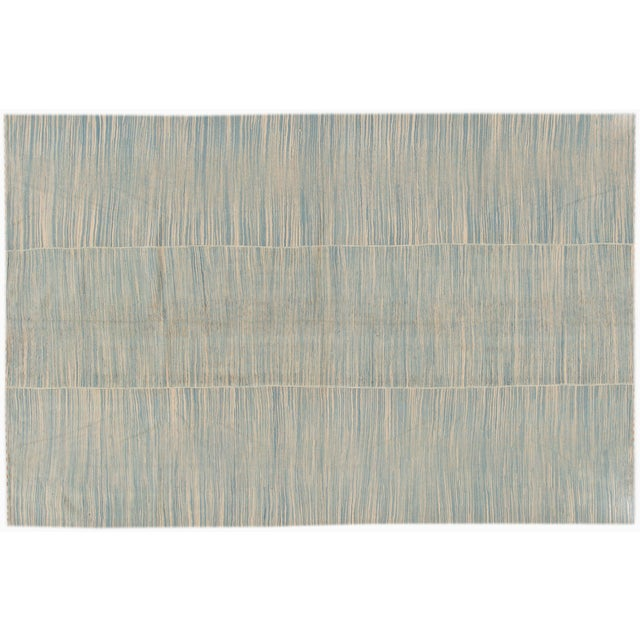 2010s 21st Century Contemporary Kilim Rug For Sale - Image 5 of 6