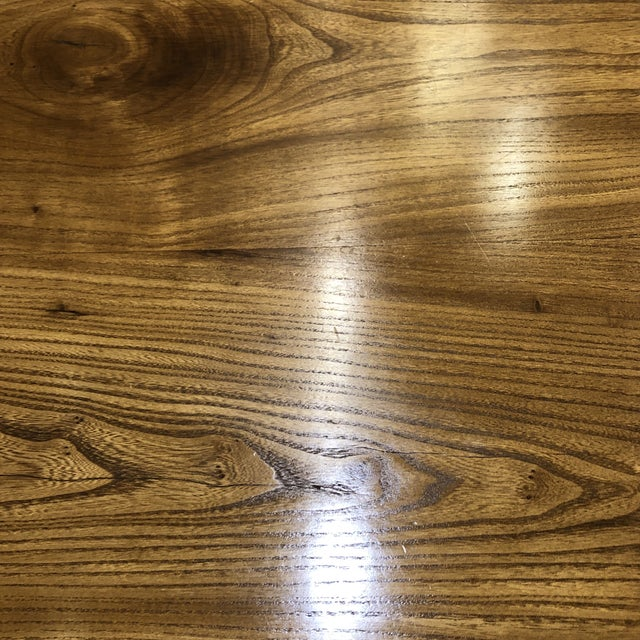 Custom Live Edge Wood Table For Sale - Image 10 of 11