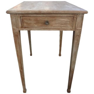 19th Century French Louis XVI Style Painted Table For Sale