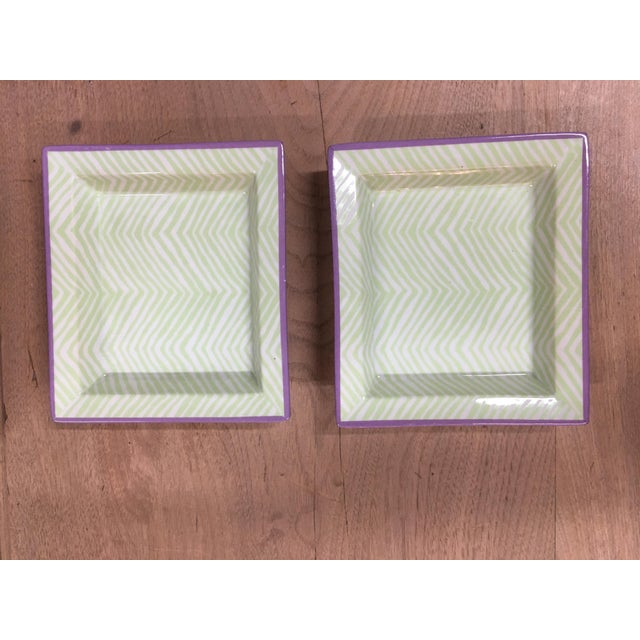 Tozai Mini Tray Dishes - a Pair For Sale - Image 9 of 9