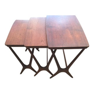 Erling Torvits Nesting Tables For Sale