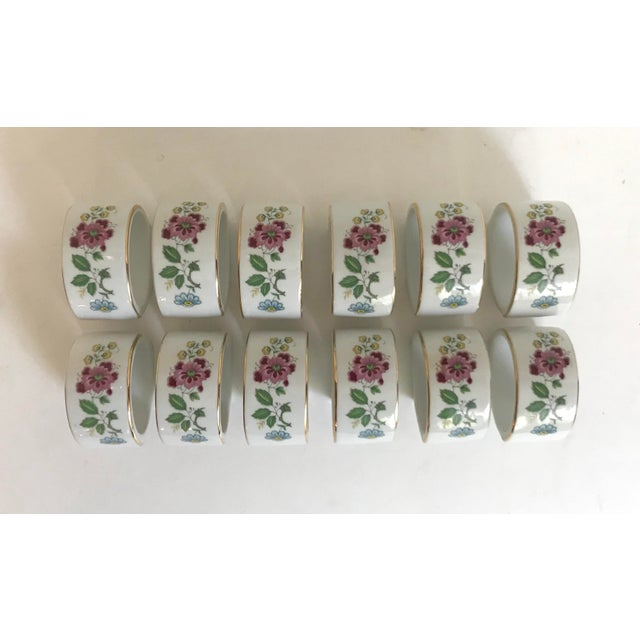 1960s Vintage House of Prill Bird of Paradise Napkin Rings - Set of 12 For Sale - Image 4 of 4
