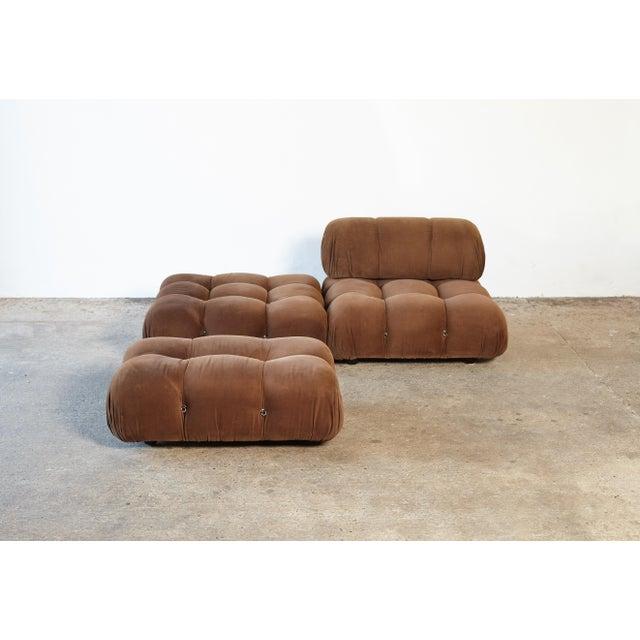 "1970s 1970s Vintage Mario Bellini for B&b Italia ""Camaleonda"" Modular Sofa For Sale - Image 5 of 10"