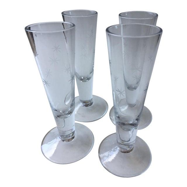Vintage Mid-Century Shot Glasses - Set of 4 - Image 1 of 9