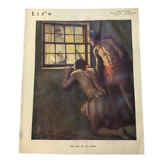 Nov 25 1915 Life Mag O'Malley Native American Cover Art For Sale