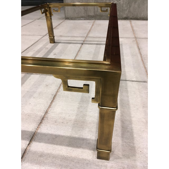 Mid-Century Greek Key Coffee Table by Mastercraft For Sale - Image 11 of 13