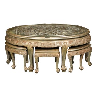 Cocktail Table Attributed to James Mont For Sale