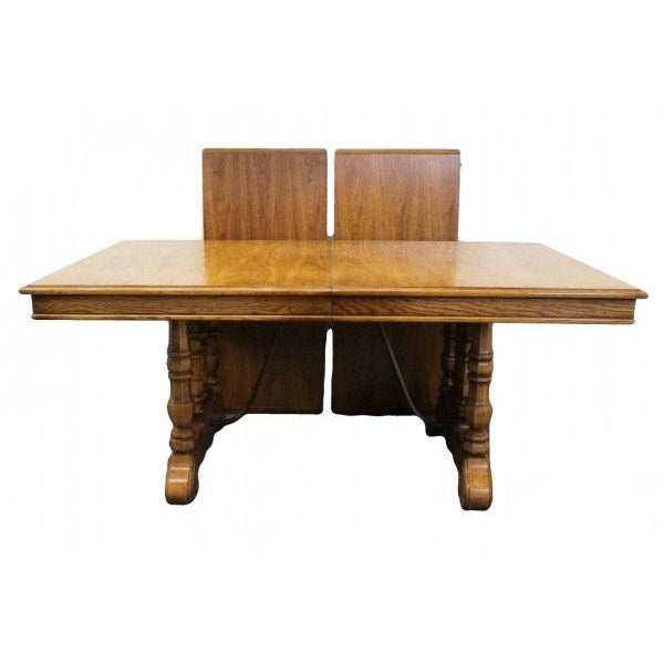 20th Century Spanish Revival Thomasville Segovia Dining Table For Sale - Image 11 of 11
