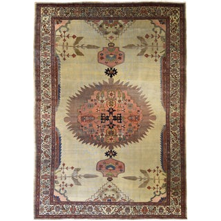"Antique Persian Fereghan carpet 8' 9"" x 12' For Sale"