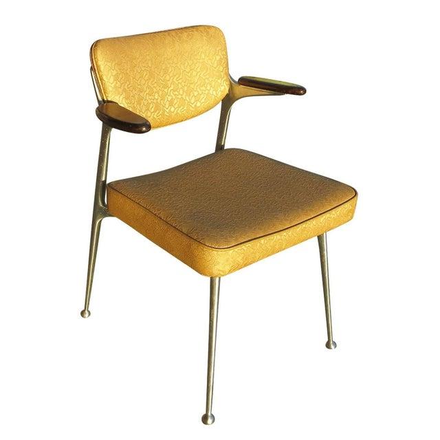 Aluminum Gazelle Armchairs- Set of 4 - Image 2 of 8