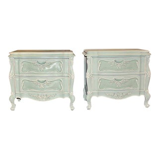 Painted Night Tables - a Pair