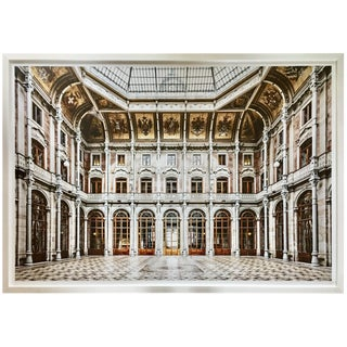 Neoclassical Style Architectural Art Photograph, Portugal For Sale
