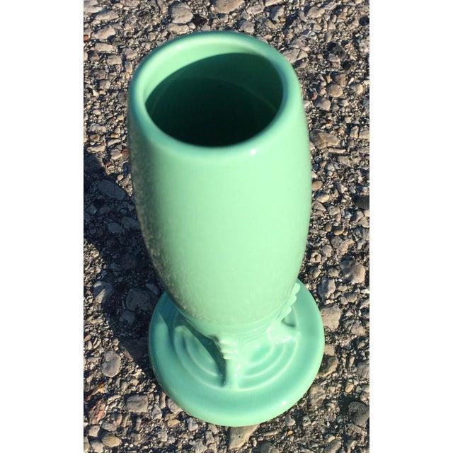 Fiestaware Green Art Deco Style Bud Vase - Image 3 of 4