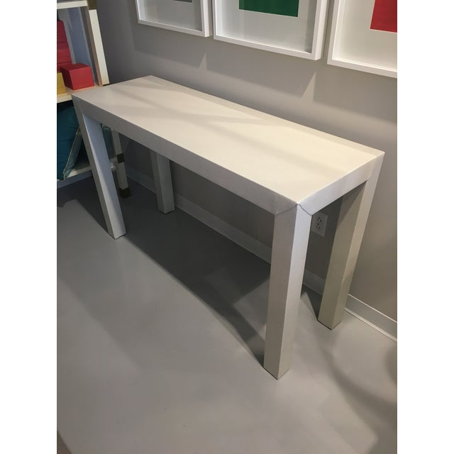 Upholstered Celine Parsons Table - Image 9 of 9
