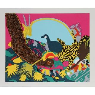 "1980s Hunt Slonem, ""Spell Iii"", Pop Art Screenprint For Sale"