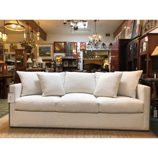 Rene Cazares Furniture Woody Upholstered Sofa For Sale - Image 13 of 13