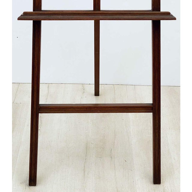English Artist's or Display Easel With Carved Wood Accents For Sale In Austin - Image 6 of 13