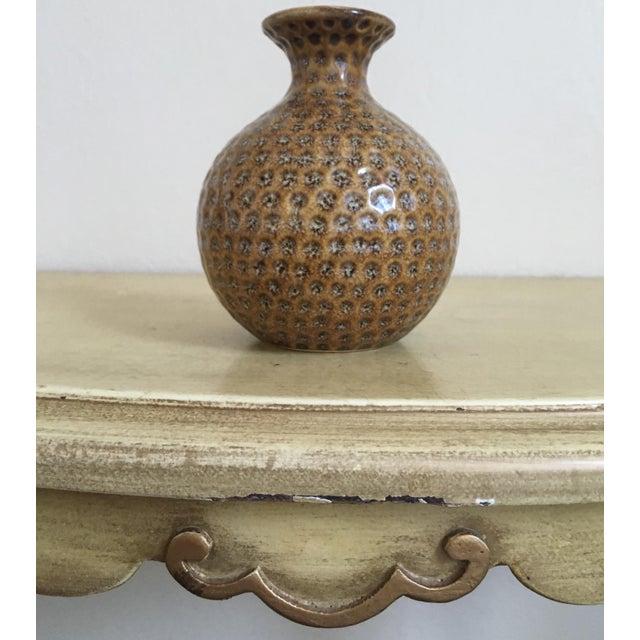 Moroccan Style Round Sienna Boho Chic Bud Vase - Image 5 of 5