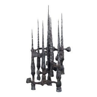 Vintage Brutalist Abstract Sculpture