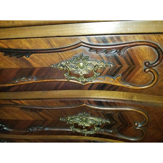 French Style Commode or Chest of Drawers, 20th Century For Sale - Image 4 of 8