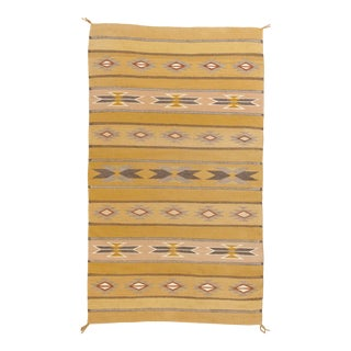 """Finely Woven Vintage Navajo Rug, 2'5"""" X 4' For Sale"""