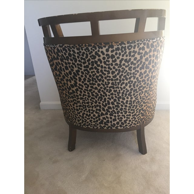 Leopard Print Chair - Image 4 of 7