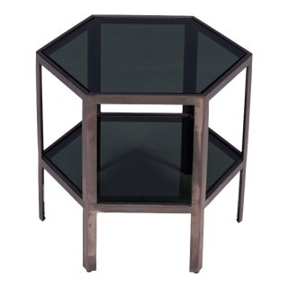 Sarreid Ltd Low Modern Hex Table For Sale