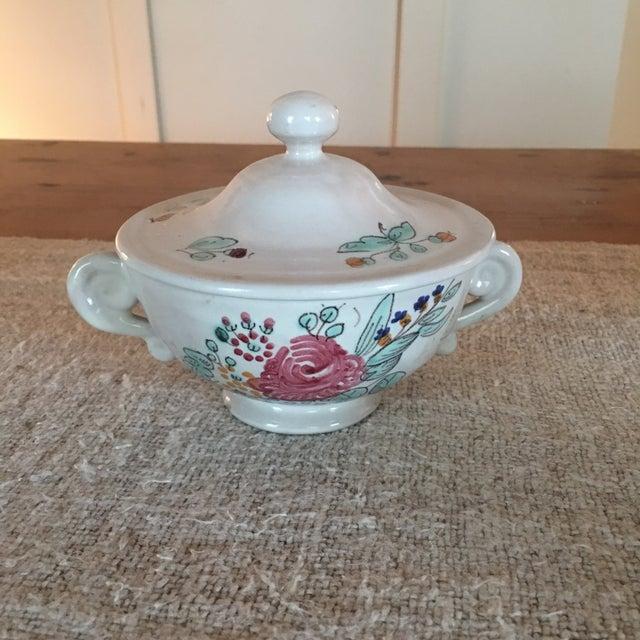 Ceramic Antique Deruta Italy Pottery Dinnerware Set - 34 Pieces For Sale - Image 7 of 13
