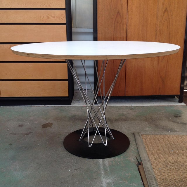 "Fantastic Noguchi Cyclone 42"" Dining Table made by Knoll. This table is in very good shape with some minor wear on the..."