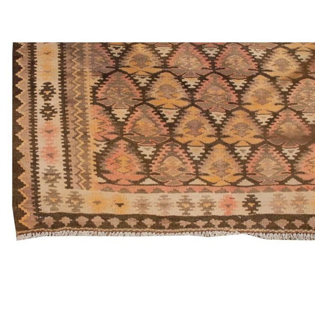 1930s Early 20th Century Qazvin Runner - 3′8″ × 14′ For Sale - Image 5 of 6