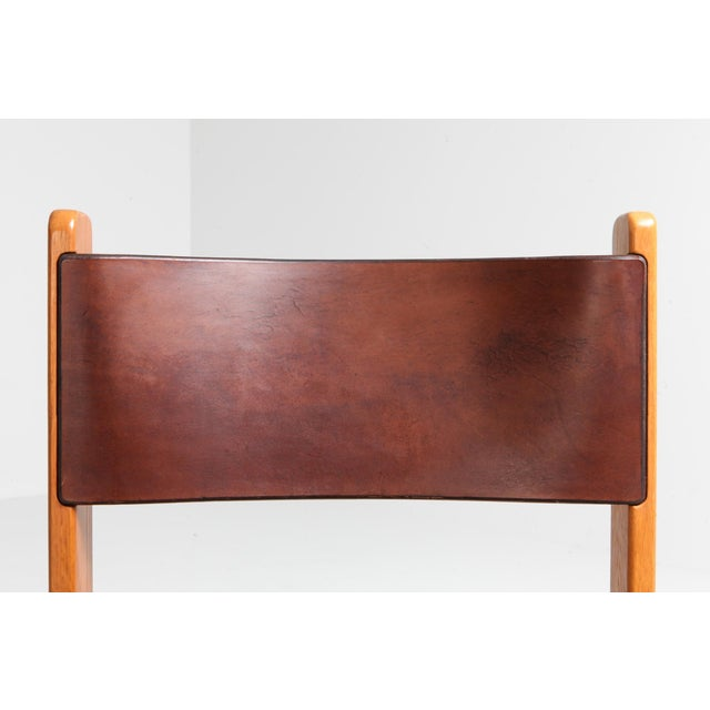 Fantastic Oak Leather Dining Chairs Machost Co Dining Chair Design Ideas Machostcouk