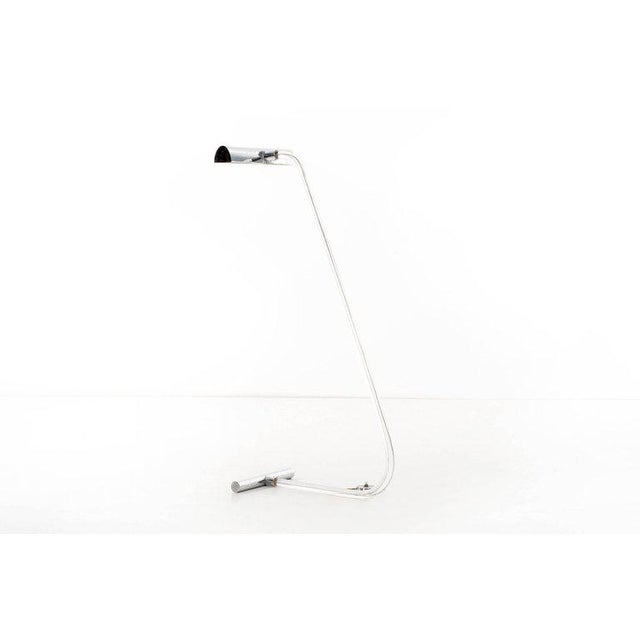 Knoll 1960s Peter Hamburger for Knoll Crylicord Floor Lamp For Sale - Image 4 of 7