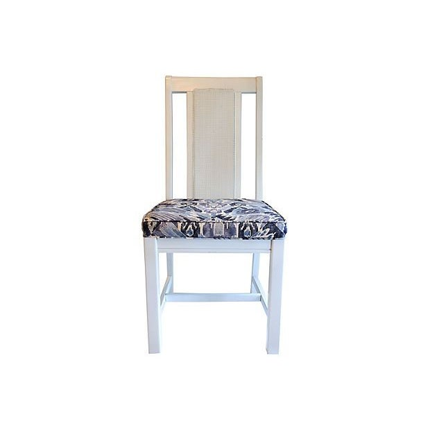 Cane Back Dining Chairs - Set of 4 - Image 2 of 7