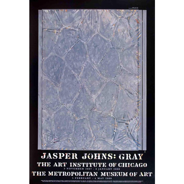 "Jasper Johns ""Within"" 2007 Poster For Sale"