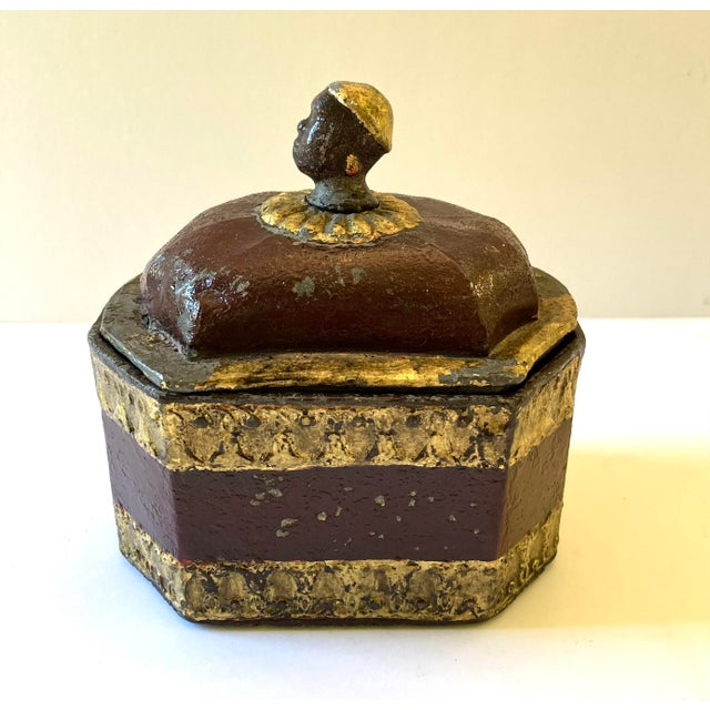 Early 19th C. Lead Tobacco Box For Sale - Image 9 of 9