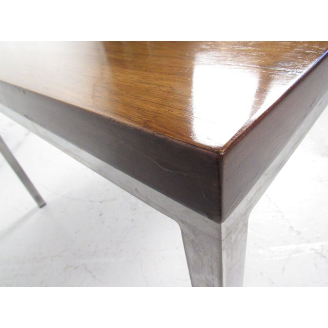 Milo Baughman Style Coffee Table For Sale In New York - Image 6 of 12