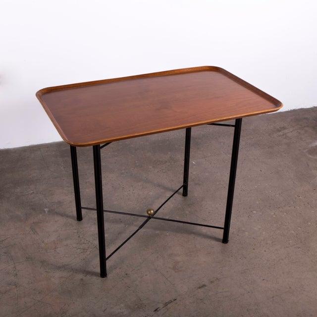 Danish Modern Danish Teak Folding Tray by Fritz Hansen For Sale - Image 3 of 6