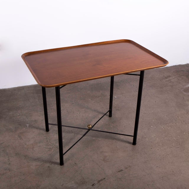 Danish Modern Danish Teak Folding Tray made by FH For Sale - Image 3 of 6