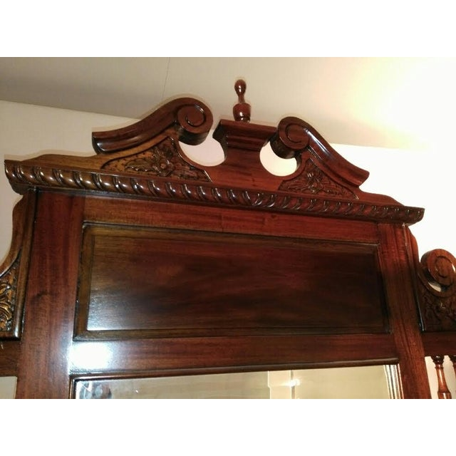 Mahogany Chippendale Style Hall Tree For Sale - Image 7 of 10
